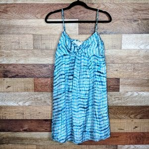 Ann Taylor Tie Dye Sleeveless Silk Dress 4